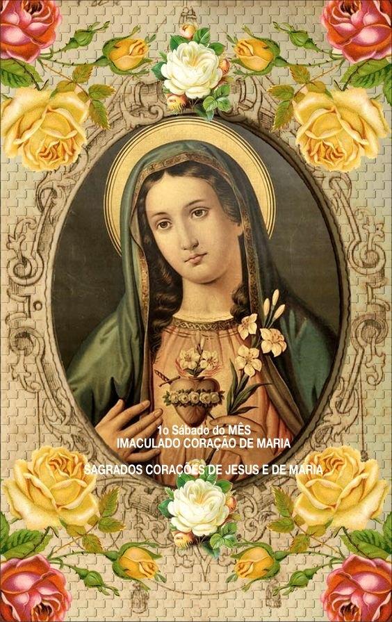 DEVOÇÃO AO SAGRADO CORAÇÃO DE MARIA E OS CINCO PRIMEIROS SÁBADOS DE CADAMÊS