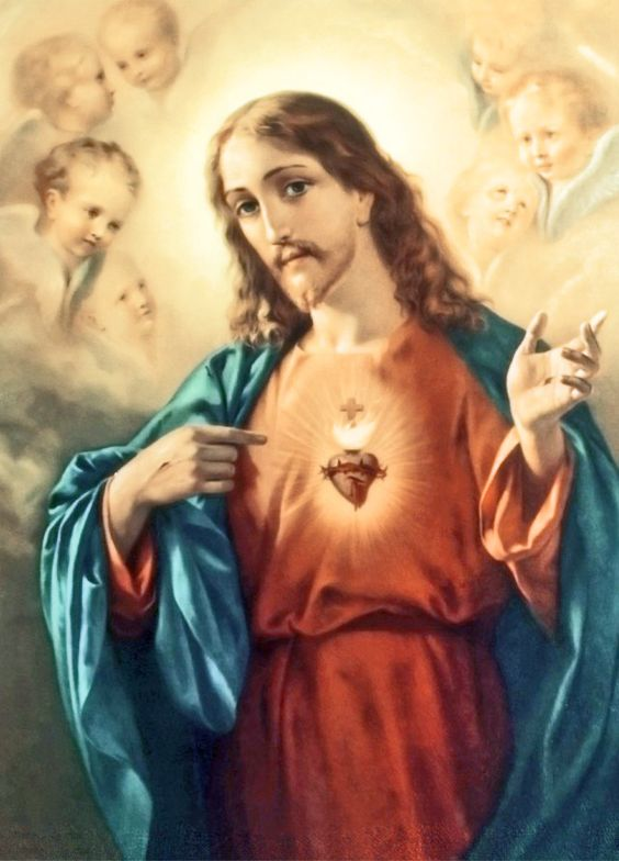 JUNHO: MÊS DEDICADO AO SAGRADO CORAÇÃO DEJESUS